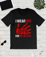 I Wear Red For My Sisters Shirt Classic T-Shirt lifestyle-mens-crewneck-front-17