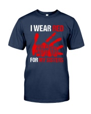I Wear Red For My Sisters Shirt Classic T-Shirt tile