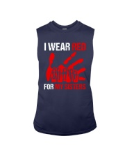 I Wear Red For My Sisters Shirt Sleeveless Tee thumbnail