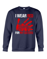 I Wear Red For My Sisters Shirt Crewneck Sweatshirt thumbnail