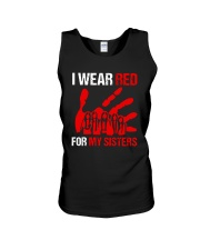 I Wear Red For My Sisters Shirt Unisex Tank thumbnail