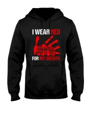 I Wear Red For My Sisters Shirt Hooded Sweatshirt thumbnail