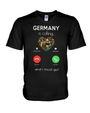 Germany Is Calling And I Must Go Shirt V-Neck T-Shirt thumbnail