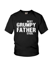Best Grumpy Father Ever Shirt Youth T-Shirt thumbnail