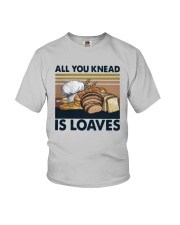 Vintage All You Knead Is Loaves Shirt Youth T-Shirt thumbnail