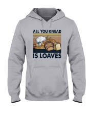 Vintage All You Knead Is Loaves Shirt Hooded Sweatshirt thumbnail