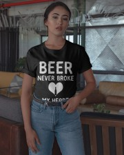 Beer Never Broke My Heart Shirt Classic T-Shirt apparel-classic-tshirt-lifestyle-05