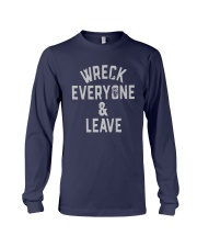 Wreck Everyone And Leave Roman Reigns T Shirt Long Sleeve Tee thumbnail