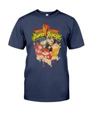 Mighty Claaws Pawer Rangers Shirt Premium Fit Mens Tee thumbnail