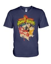 Mighty Claaws Pawer Rangers Shirt V-Neck T-Shirt thumbnail