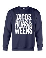Tacos Ritas And Weens Shirt Crewneck Sweatshirt thumbnail