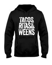 Tacos Ritas And Weens Shirt Hooded Sweatshirt thumbnail