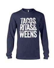 Tacos Ritas And Weens Shirt Long Sleeve Tee thumbnail