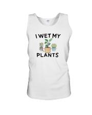 I Wet My Plants Shirt Unisex Tank thumbnail