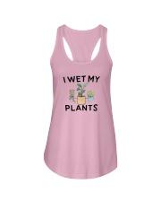 I Wet My Plants Shirt Ladies Flowy Tank thumbnail