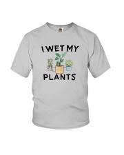 I Wet My Plants Shirt Youth T-Shirt thumbnail