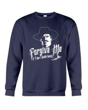 Forgive Me I If I Don't Shake Hands Shirt Crewneck Sweatshirt thumbnail