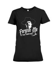 Forgive Me I If I Don't Shake Hands Shirt Premium Fit Ladies Tee thumbnail