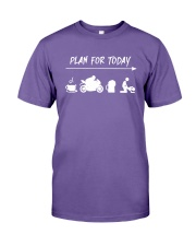 Plan For Today Coffee Motor Beer And Sex Shirt Premium Fit Mens Tee thumbnail