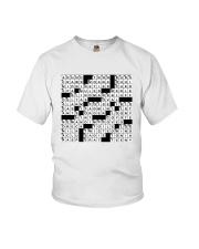 Spot On A Shirt Crossword Clue Youth T-Shirt thumbnail