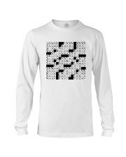 Spot On A Shirt Crossword Clue Long Sleeve Tee thumbnail