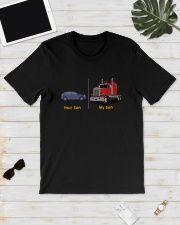 Your Son My Son Truck Shirt Classic T-Shirt lifestyle-mens-crewneck-front-17