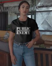 Public Enemy Shirt Classic T-Shirt apparel-classic-tshirt-lifestyle-05