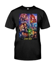 All Characters Signatures Star Trek Shirt Classic T-Shirt front