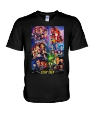 All Characters Signatures Star Trek Shirt V-Neck T-Shirt thumbnail