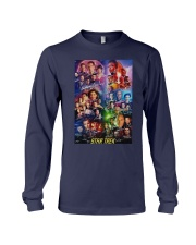 All Characters Signatures Star Trek Shirt Long Sleeve Tee thumbnail