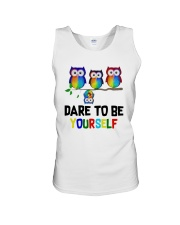 Owls Dare To Be Yourself Shirt Unisex Tank thumbnail