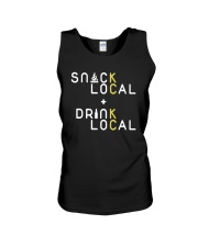 Snack Local Drink Local Shirt Unisex Tank thumbnail