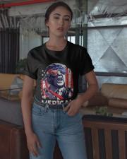 American Flag Trump Merica Shirt Classic T-Shirt apparel-classic-tshirt-lifestyle-05