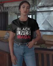 Black Lives Maga Shirt Classic T-Shirt apparel-classic-tshirt-lifestyle-05