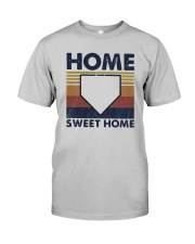 Vintage Baseball Home Sweet Home Shirt Classic T-Shirt tile