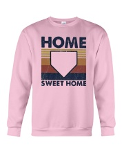 Vintage Baseball Home Sweet Home Shirt Crewneck Sweatshirt thumbnail