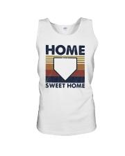 Vintage Baseball Home Sweet Home Shirt Unisex Tank thumbnail