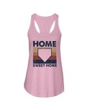 Vintage Baseball Home Sweet Home Shirt Ladies Flowy Tank thumbnail