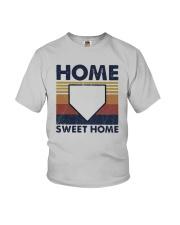 Vintage Baseball Home Sweet Home Shirt Youth T-Shirt thumbnail