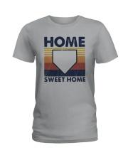Vintage Baseball Home Sweet Home Shirt Ladies T-Shirt thumbnail