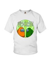 Among Us Discuss Shirt Youth T-Shirt thumbnail