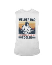 Vintage Welder Dad Like A Regular Dad But Shirt Sleeveless Tee thumbnail