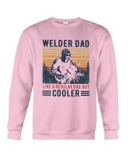Vintage Welder Dad Like A Regular Dad But Shirt Crewneck Sweatshirt thumbnail