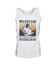 Vintage Welder Dad Like A Regular Dad But Shirt Unisex Tank thumbnail