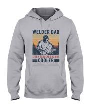 Vintage Welder Dad Like A Regular Dad But Shirt Hooded Sweatshirt thumbnail