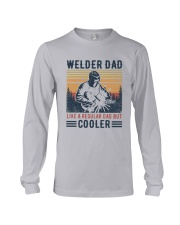 Vintage Welder Dad Like A Regular Dad But Shirt Long Sleeve Tee thumbnail