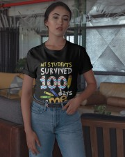 My Students Survived 100 Days Of Me Shirt Classic T-Shirt apparel-classic-tshirt-lifestyle-05