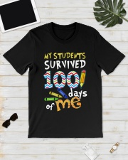 My Students Survived 100 Days Of Me Shirt Classic T-Shirt lifestyle-mens-crewneck-front-17