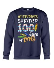 My Students Survived 100 Days Of Me Shirt Crewneck Sweatshirt thumbnail