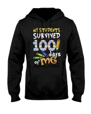 My Students Survived 100 Days Of Me Shirt Hooded Sweatshirt thumbnail